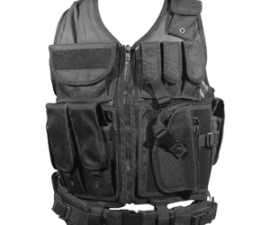 Firepower Deluxe Tactical Vest Black
