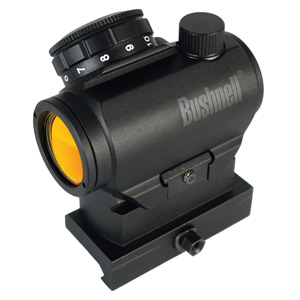 Bushnell-Optics-TRS-25-HiRise-Red-Dot-Riflescope-with-Riser-Block,-1x25mm