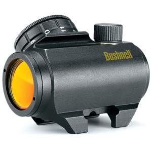 Bushnell-Trophy-TRS-25-Red-Dot-Sight-Riflescope,-1-x-25mm-(tilted-front-lens)