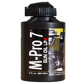 M-Pro 7 Gun Oil LPX, 4 Ounce Bottle