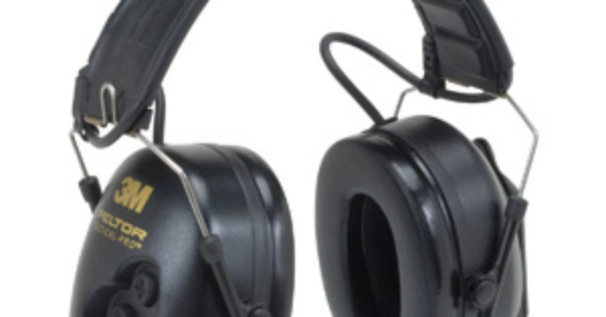 3M Peltor TacticalPro Communications Headset MT15H7F SV, Headband