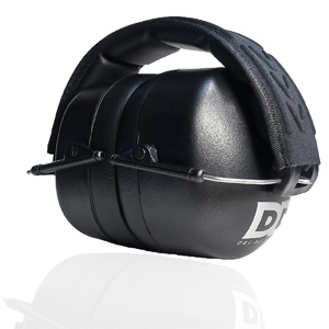 Professional Safety Ear Muffs by Decibel Defense - 37dB NRR - The HIGHEST Rated & MOST COMFORTABLE Ear Protection - Firearm & Industrial Use - THE BEST HEARING PROTECTION...GUARANTEED