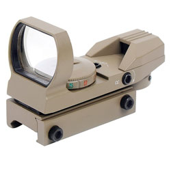 Ohuhu Red and Green Reflex Sight with 4 Reticles