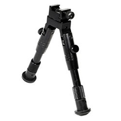 UTG Shooter's SWAT Bipod, Rubber Feet