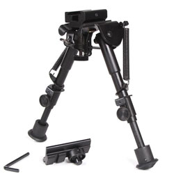 Ohuhu OH-B Adjustable Handy Spring Return Sniper Hunting Tactical Rifle Bipod