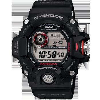 Casio Master GW-9400 Stainless Steel Solar Watch
