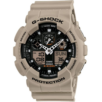 Casio Men GA100SD-8A G-Shock Military Watch