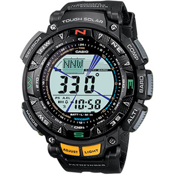 Casio Men PAG240-1CR Pathfinder Watch