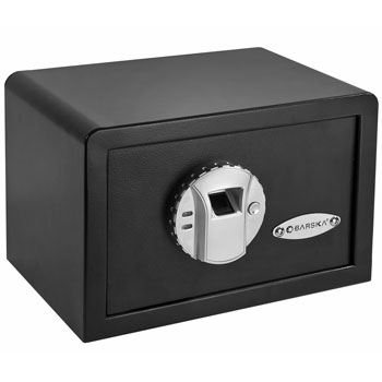 BARSKA AX11620 Biometric Fingerprint Mini Security Home Safe Box B004XSB5TK