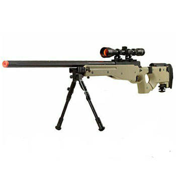 Well Full Metal MB08 Bolt Action Sniper Rifle